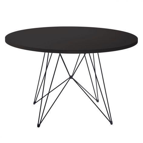 Magis Tisch Tavolo Xz3 Schwarz Schwarz O120cm Artvoll Colors