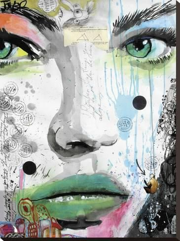 Stretched Canvas Print: Bloom by Loui Jover : 32x24in
