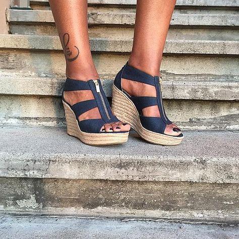 8b7dfaf9fee I have these --- MICHAEL Michael Kors  Damita  Wedge Sandal (Women ...