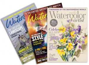 Watercolor Artist Magazine Print Subscription Watercolor Art Diy