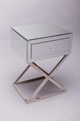 Lustrzana Szafka Nocna Glamour 6669919577 Oficjalne Archiwum Allegro Modern Bedroom Furniture Furniture Home