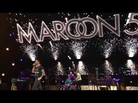 """Kelly Clarkson fue la invitada sorpresa en el escenario del Sleep Train Amphitheater en San Diego para interpretar """"Moves Like Jagger"""" junto a Maroon 5"""