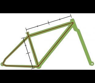 How To Measure Bike Frame Bike Frame Frame Bike