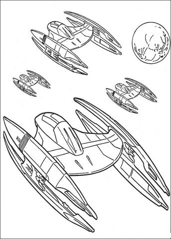 Ausmalbilder Star Wars X Wing Kostenlos Para Colorear