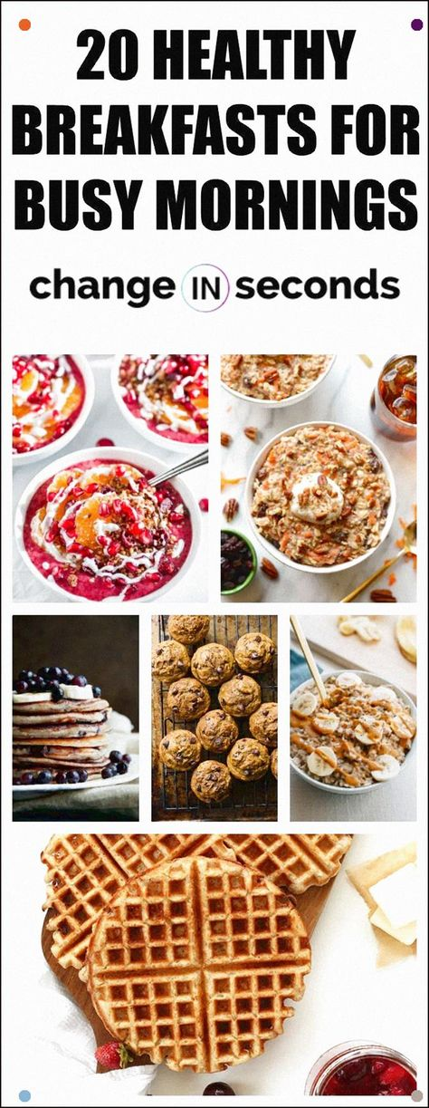 20 Healthy Breakfasts For Busy Mornings This Is The Best List Of Healthy Breakfast Recipes #Easybreakfastideas, #Healthybreakfastrecipes, #Healthybreakfastideas, #Healthybreakfastonthego, #Quickhealthybreakfast, #Breakfast, #Oatmealrecipes, #Veganbreakfast