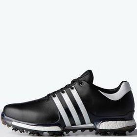 Custom Adidas Tour360 Boost 2 0 Men S Golf Shoes Black White Golf Shoes Mens Golf Shoes Womens Golf Shoes