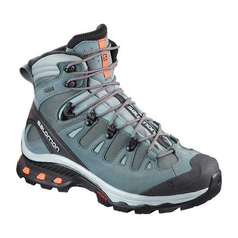 Women's Salomon Quest 4D 3 GORE-TEX Hiking Shoe - Lead Boots ...