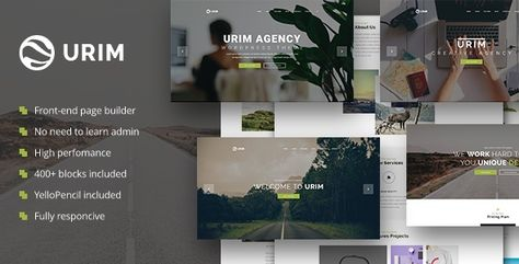 Urim - Creative Agency WordPress Theme