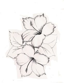 Hibiscos Em 2020 Hibisco Tatuagem Desenhos De Tatuagem De Flor