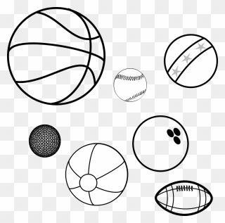 Balls Sports Balls Game Balls Basketball Baseball Transparent Background Basketball Black And White Clipart Sports Balls Clip Art Transparent Background