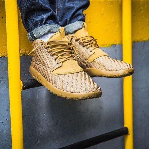 Nike Air Jordan Eclipse Chukka Woven Sneakers Golden Harvest Size 7 8 9 10  11 12  Nike  AthleticSneakers 02301b6c8