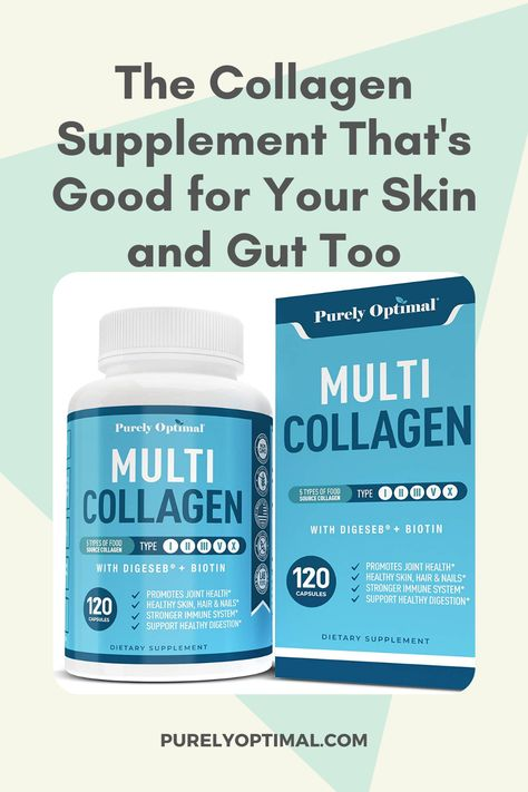 Collagen isn't just for beauty because it's also necessary for gut health. DigeSeb and Bioperine in our Multi Collagen lets your gut effectively absorb the nutrients that aid in digestion  strengthens your intestinal walls. Click the post to learn more. #collagen #collagenpeptides #collagenpeptidesbenefits #collagensupplements #antiaging #collagenpills #collagencapsules #biotin #hyaluronicacid #beautysupplements