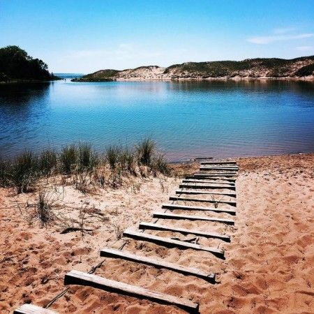 The Sleeping Bear Dunes Michigan America S Most Beautiful Place By Double Barrelled Travel