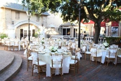 Corpus Christi Texas Wedding Venue The Courtyard At Gaslight Square Venues Pinterest And
