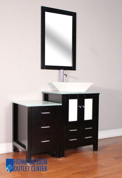 Aw 125 42 E Wsc 42 Single Modern Bathroom Vanity Set Espresso Home Design Outlet Center Modern Bathroom Vanity Modern Bathroom Bathroom Vanity