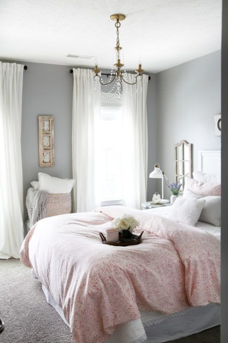 Sweet And Simple Guest Bedroom Decor Reveal Bedrooms Makeover
