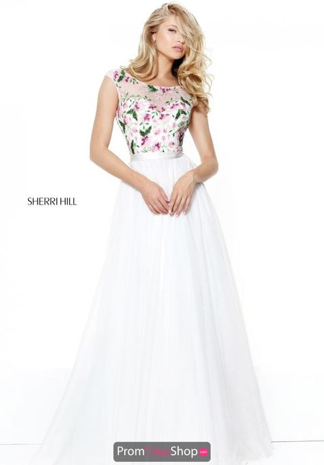 ca4b5bffe150d List of Pinterest pron dresses sleeve modest sherri hill pictures ...