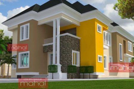 Modern Nigerian House Plans Architect Design House Sims House