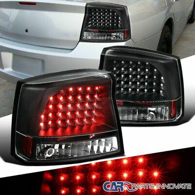Ad Ebay 05 08 Dodge Charger Black Led Reverse Tail Lights Parking Rear Brake Lamps Pair Rear Brakes Dodge Charger Tail Light