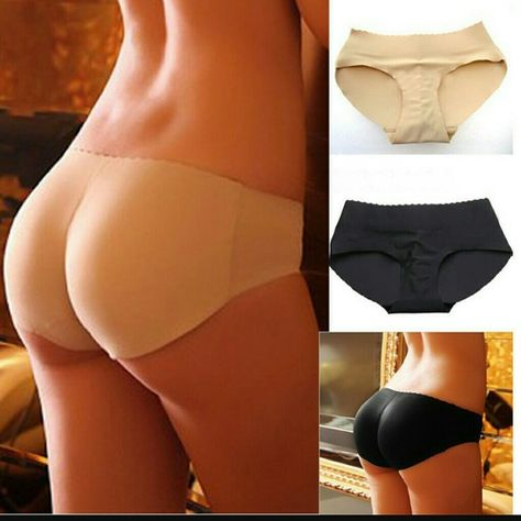 9a36c9280d7 Description  New Fashion sexy Padded panties for women Lady Seamless Butt  padded underwear hip padding Enhancer Shaper Panties Underwear ...