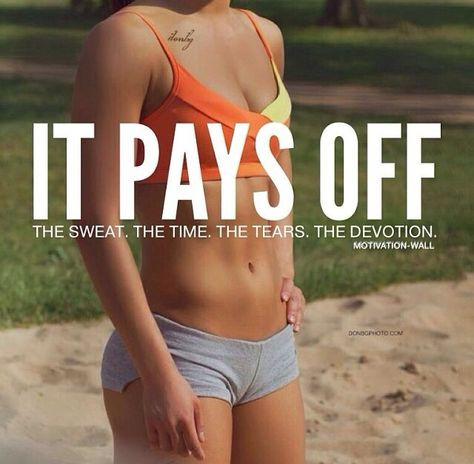 quote tan shorts fitblr fitspo motivation orange healthy fit abs fitness workout flat stomach fitspiration Sports Bra it pays off - My Summer Body Sport Motivation, Motivation Sportive, Fitness Motivation, Motivation Wall, Fitness Quotes, Weight Loss Motivation, Fitness Goals, Fitness Tips, Health Fitness