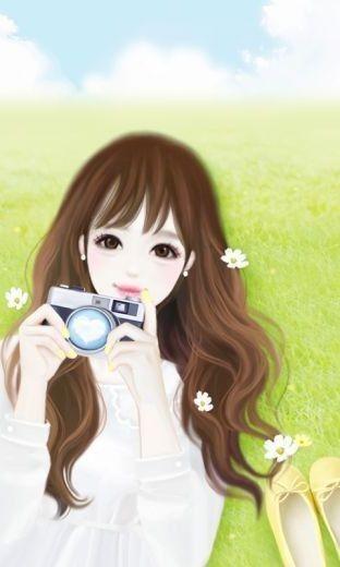 Pin Oleh Marlei Cecilia Di Cute Girl Wallpapers