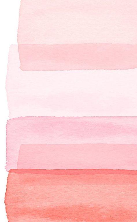 Pink Abstract art Watercolor Painting Blush Rose Peach Minimalist art Nursery Print Boho Decor Abstr