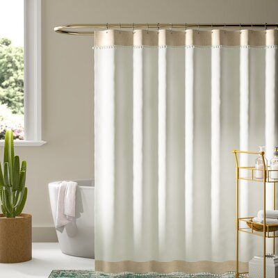Mistana Williamsport Single Shower Curtain Curtains Shower Curtain Sets Shower