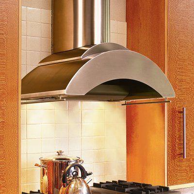 Vent A Hood 36 600 Cfm Ducted Wall Mount Range Hood Range Hood Appliances Design