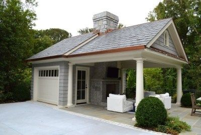 Delightful Home Garage Design Ideas For Minimalist Home 27 In 2020 Carport Garage Backyard Garage Pool House Designs