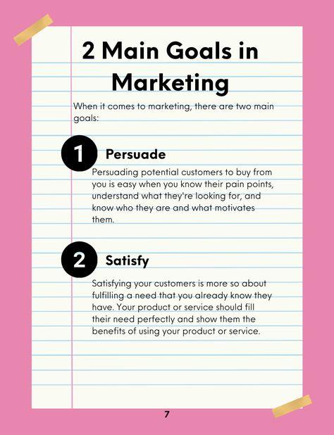 The Marketing Burn Book