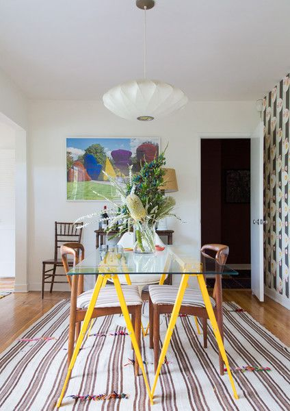 Grab A Seat - Work + Sea's Colorful Los Angeles Home  - Photos