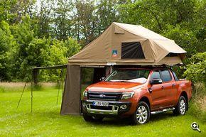 Laderaumandeckung zum Zelt ausbauen?
