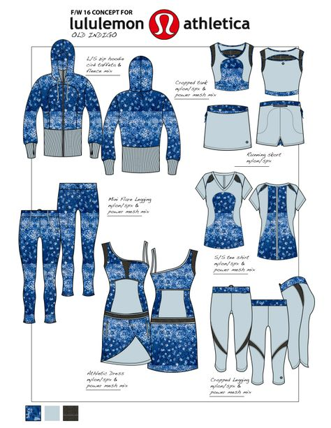 Women'S activewear/outerwear/outdoors lifestyle by stefania corti at