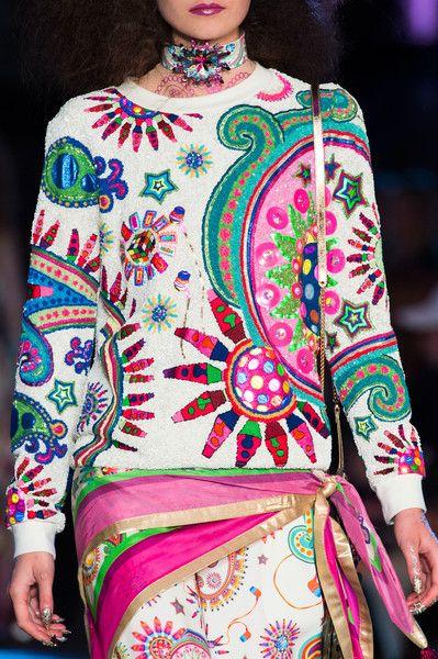 Manish Arora at Paris Fashion Week Spring 2016 - Details Runway Photos