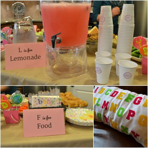 Feather's Flights {a creative, sewing blog}: Alphabet Baby Shower