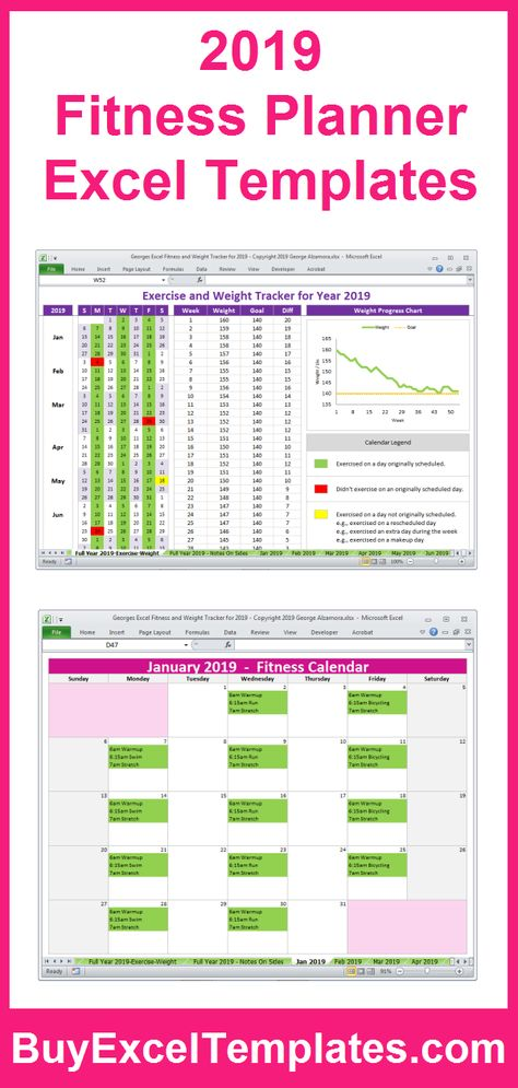 Georges Excel Calendar Year 2019 Excel Calendar 2019 Printable