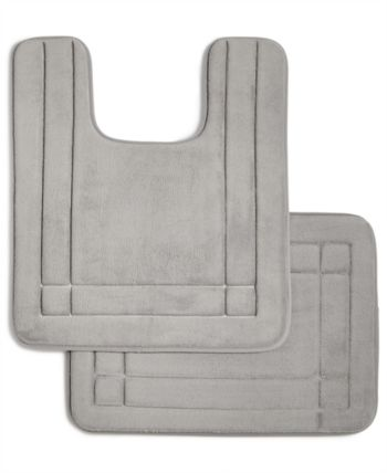 Sunham Comfort Soft 21 X 34 Memory Foam Bath Rug Bedding