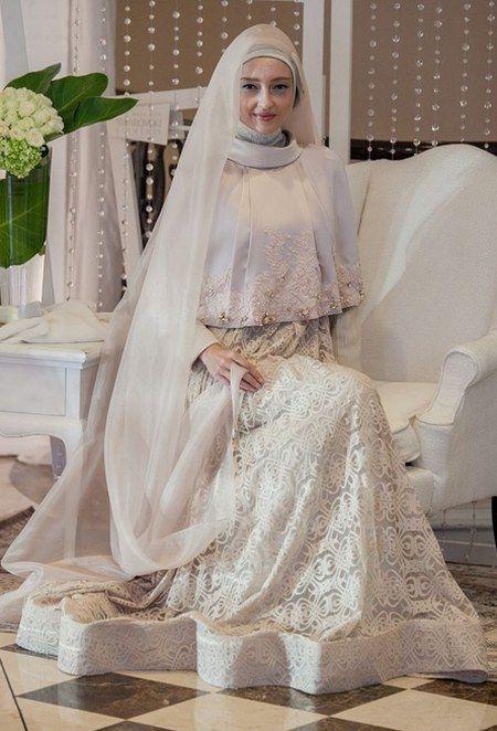 Wedding Dress Gaun Pengantin Muslimah Modern Addicfashion