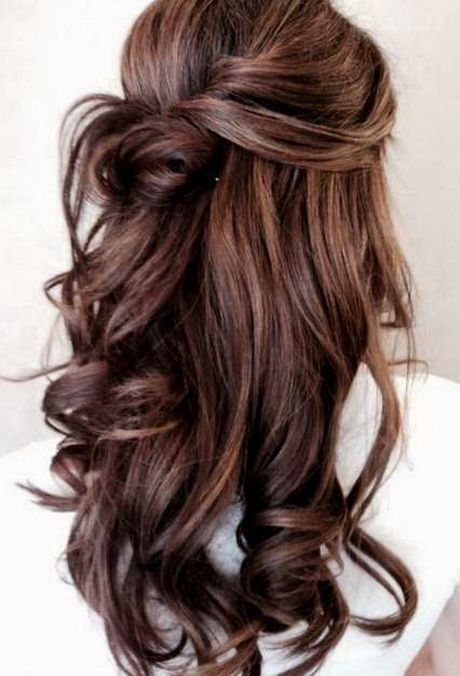 Prom Hairstyles For Long Thick Hair Hair Styles Long Hair Styles Elegant Wedding Hair