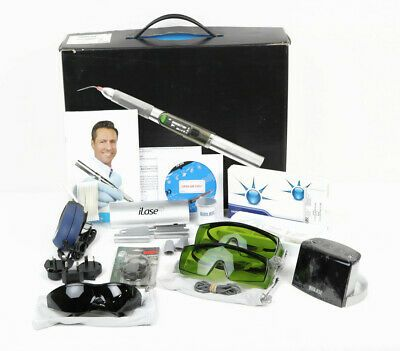 Ad Ebay Biolase Ilase Diode Dental Laser W Case Glasses Tips Batteries And More In 2020 Dental Laser Dental Diode