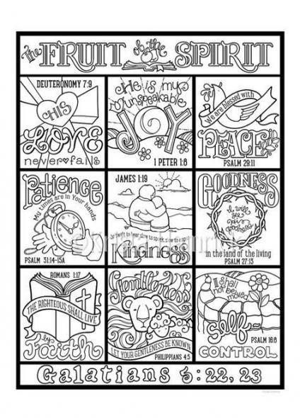 50 Trendy Fruit Of The Spirit Coloring Page God Fruit With Images Fruit Of The Spirit Bible Coloring Pages Bible Coloring