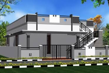 Exterior House Parapet Wall Design For Small House Trendecors