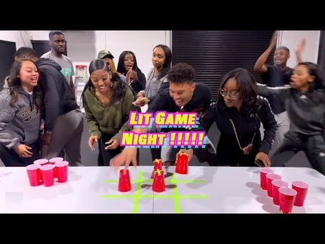 What better way to spend New Years Eve than with all your closest friends 🍾‼️ Let us know if y'all want to see more videos like this in . Girls Night Games, Date Night Games, Couples Game Night, Game Night Parties, Family Game Night, Games For Girls, Holiday Party Games, Fun Party Games, 80s Party
