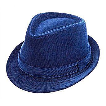 e436b31498e25f Montique Fedora Men's Corduroy Hat at Amazon Men's Clothing store: