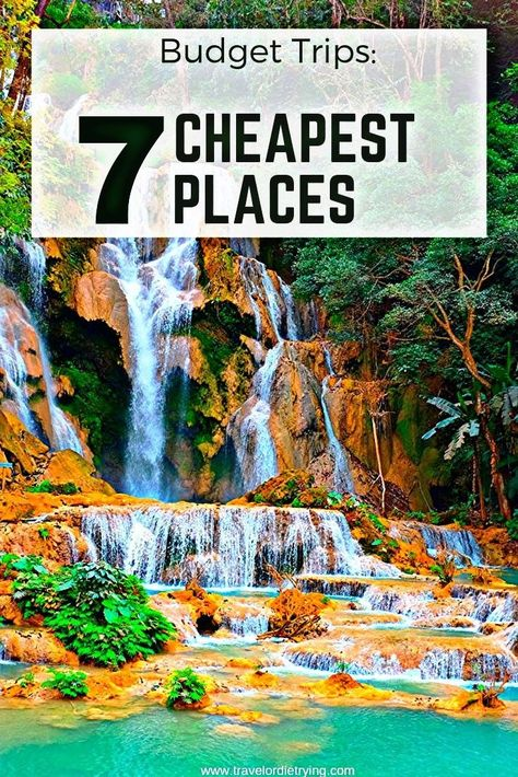 7 Cheapest Places ❤  traveling or travelling - Travel #Places #travelling #Travel