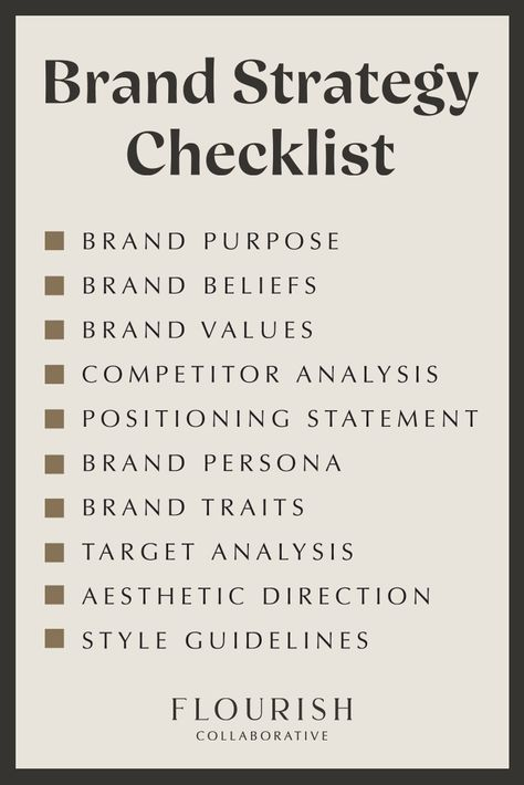 The Ultimate Branding Strategy Checklist for Business