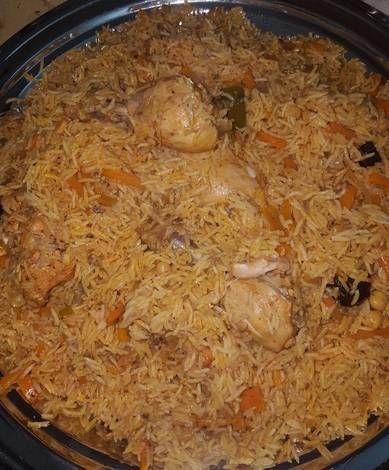 رز بخاري بالدجاج بالصور من أبو عمر حفص الطيار Recipe Food Snapchat Food Receipt Egyptian Food