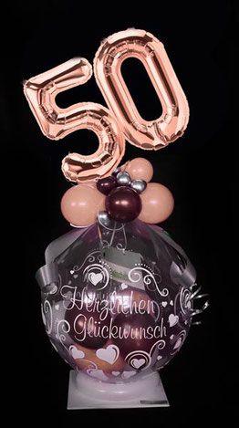 Ballon Luftballon Geschenk Geburtstag Zahl Uberraschung