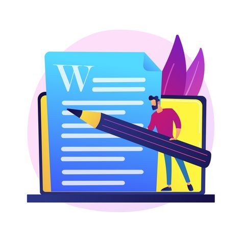 Download Creative Content Writing. Copywriting, Blogging, Internet Marketing. Article Text Editing And Publishing. Online Documents. Writer, Editor Character. for free